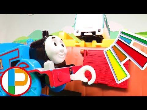 プラレール きかんしゃトーマス が新幹線の車両を探すよスーパービックドクターイエローも登場するよ子供向け OmotyanoPrussian