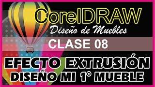 CLASE 08 CORELDRAW ORIENTADO AL DISEÑO DE MUEBLES - PRIMER MUEBLE