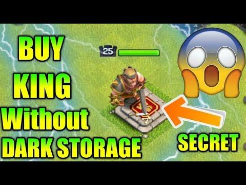 OMG 😲 Buy Barbarian King Without Dark Elixir  Storage!!!