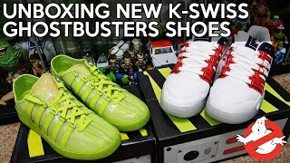 UNBOXING: New Ghostbusters themed shoes