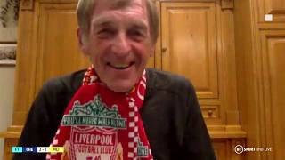 Kenny Dalglish reacts to Liverpool being crowned Premier League champions! | Premier League Tonight