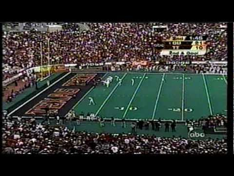 2003 - #1 Oklahoma Sooners at Texas Tech - VII