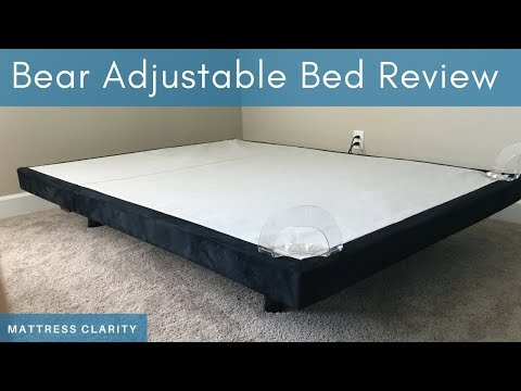 Bear Adjustable Bed Review - An Adjustable Bed with Extra Features