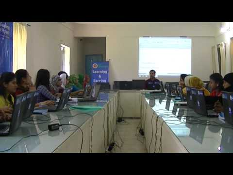 ICT Learning and earning 2nd Batch class on Basic IT (Safetech BD)