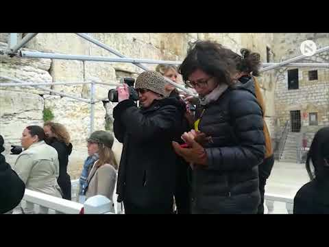 Download Youtube: Female journalists accompanying Mike Pence at Western Wall separated from male colleagues