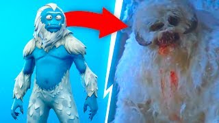 *New Secret* Yeti Cave Location 😱❄️ Fortnite Season 7