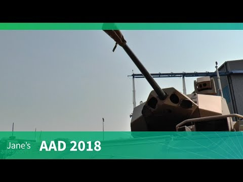 AAD 2018: RG41 Wheeled armoured combat vehicle - Denel