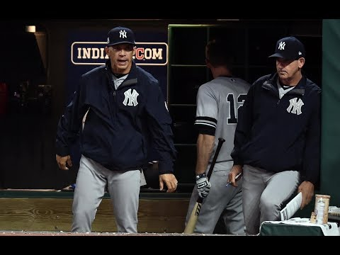 Yankees Manager Joe Girardi Takes The Blame For Alds Game Loss