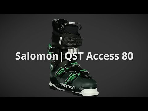 reputable site new images of buy cheap 2019 Salomon QST Access 80 Mens Boot Overview by SkisDotCom