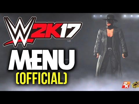 WWE 2K17 - FULL (Official) MENU Wakthrough! (All Matches, Game Modes & Options)