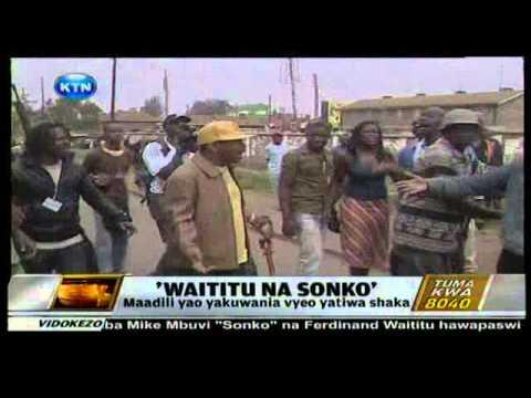 News : Sonko na Waititu wasimamishwa kuwania viti vya uchaguzi