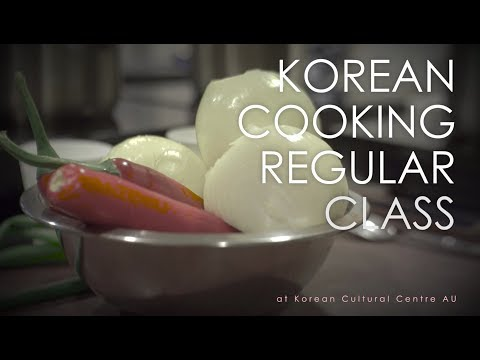 Korean Cooking Class at Korean Cultural Centre Australia
