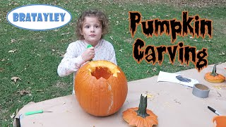 Are You Ready to Carve Some Pumpkins? (WK 251.6) | Bratayley