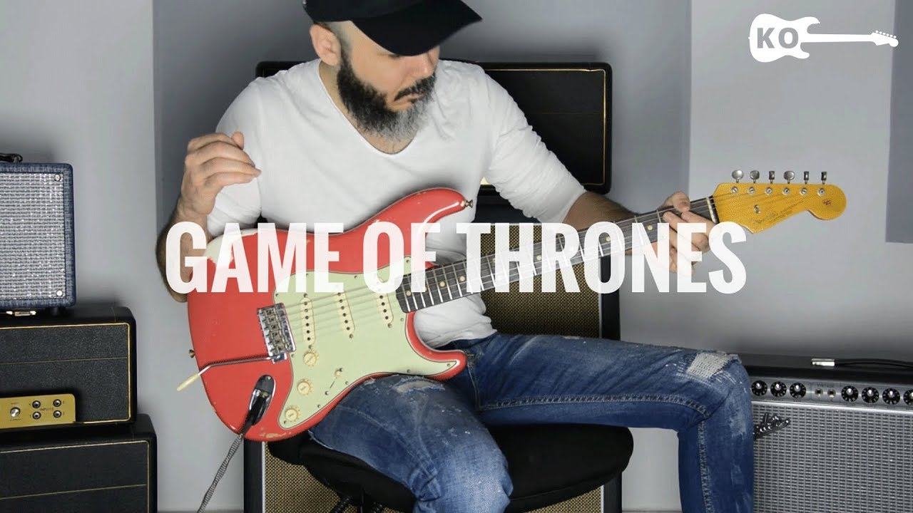 game of thrones electric guitar cover by kfir ochaion youtube. Black Bedroom Furniture Sets. Home Design Ideas