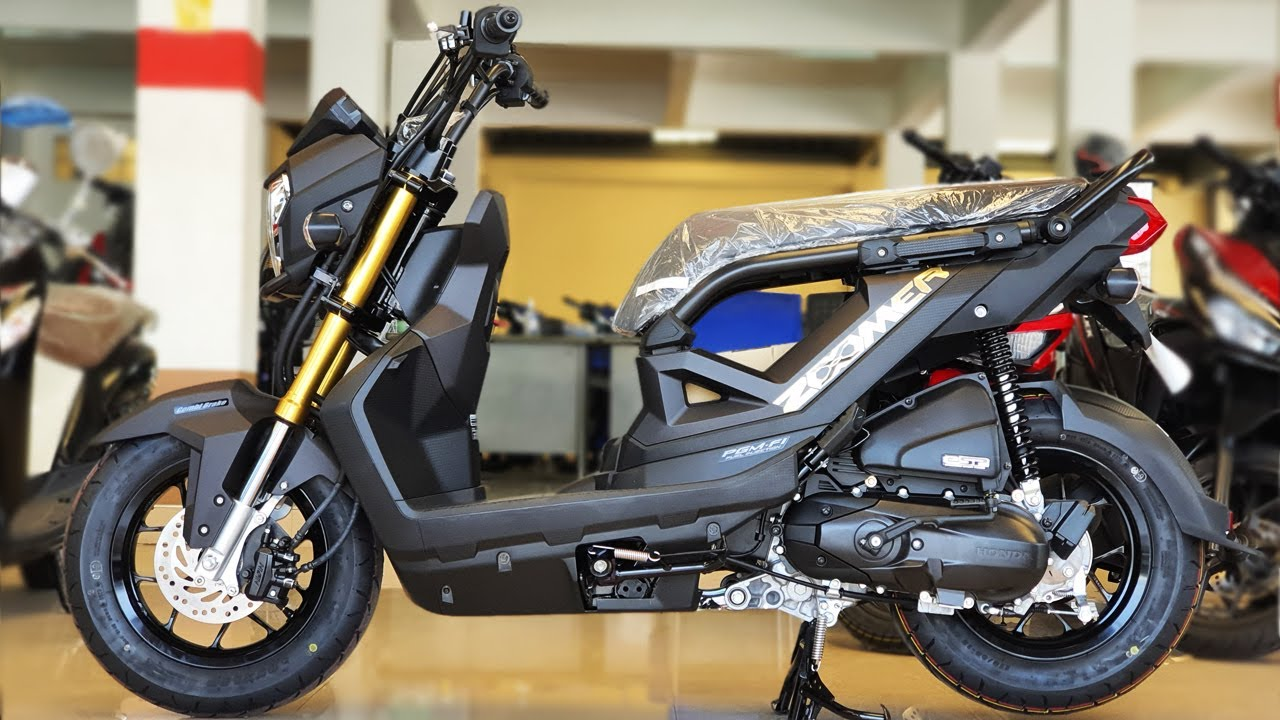 Honda Zoomer X 2020 Youtube