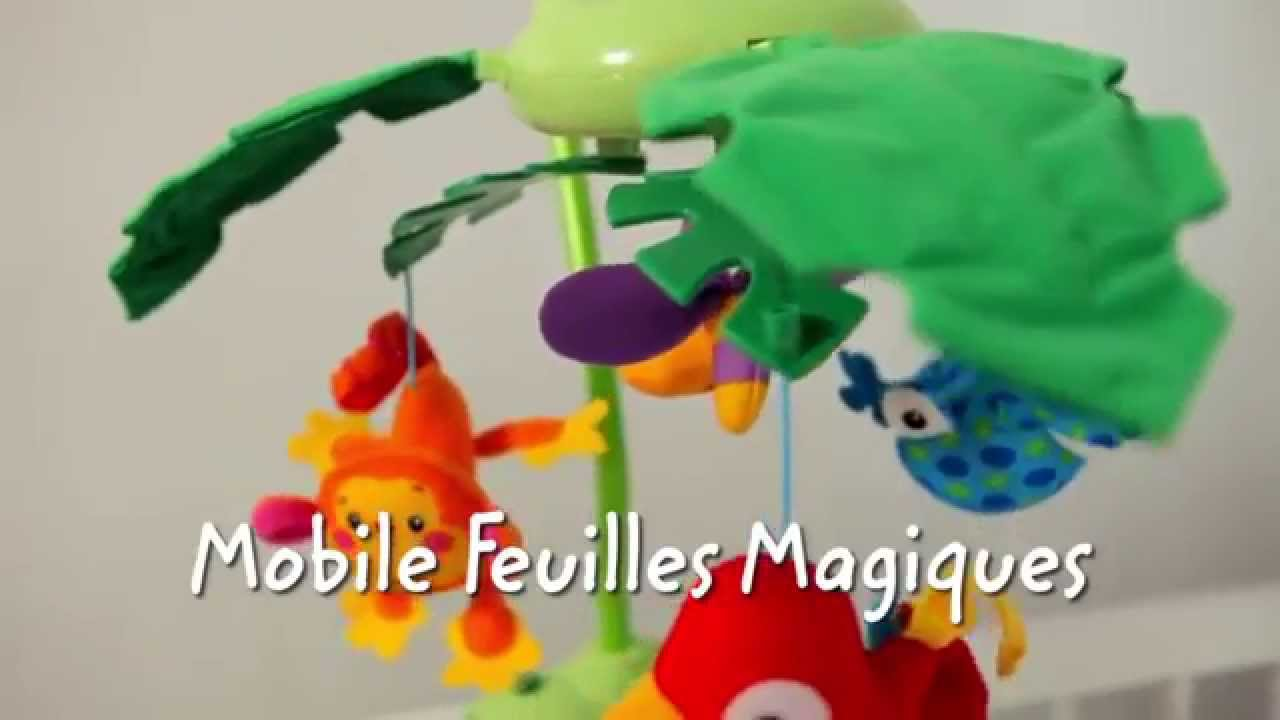 mobile feuilles magiques fisher price fr