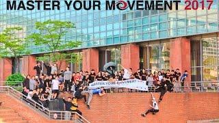 Master your Movement 2017   Parkour Generations Korea