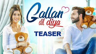 LOVIE VIRK Gallan Dil Diya (Teaser) Desi Routz | Maninder Kailey | Latest Punjabi Song | Geet MP3