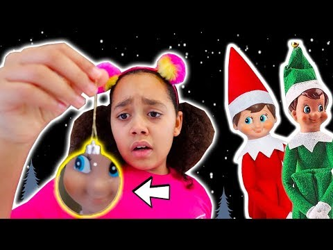 DON'T TOUCH!! ELF ON THE SHELF IS REAL