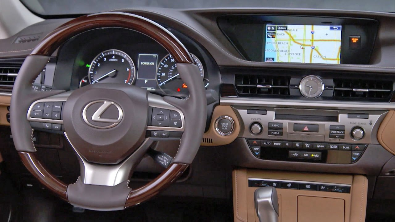 Captivating 2017 Lexus ES 350   INTERIOR   YouTube