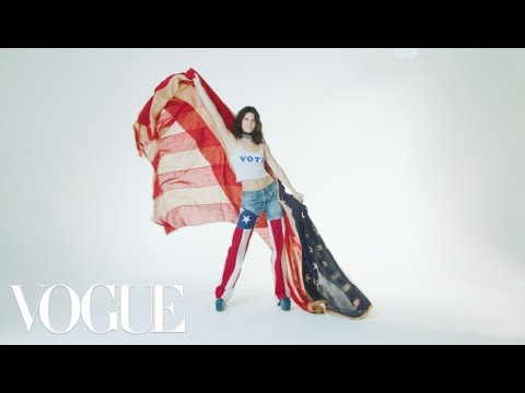 Kendall Jenner, Michael Kors, Joan Smalls, Tory Burch, and More Show You Their Voting Dance