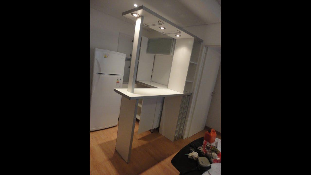 Barra alacenas vidriadas remodelacion de cocinas 155 259 - Alacenas modernas fotos ...