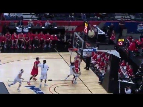 Fairfield vs Monmouth - MAAC Semifinal Men's Basketball - Video Highlights - March 06, 2016