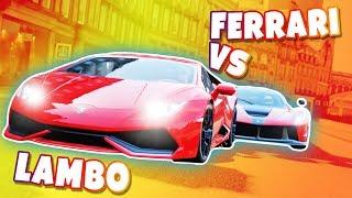 Forza Horizon 4 - Ferrari VS Lamborghini - Pojedynek Gigantów