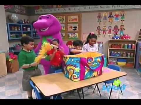 barney the barney bag 1993 version youtube