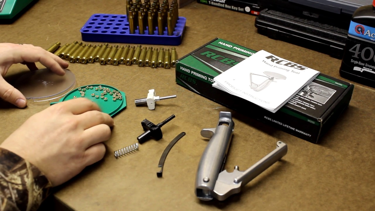 RCBS 90200 Hand Priming Tool