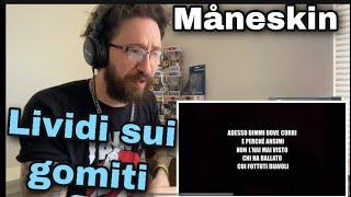 METALHEAD REACTS  Måneskin - Lividi sui gomiti