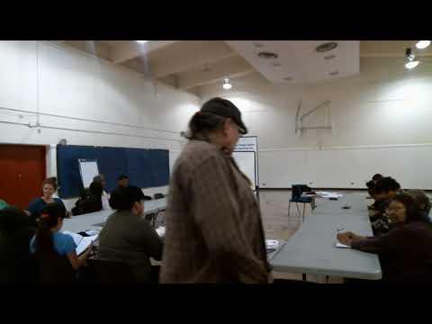 Nakoda Language Class With Pete Bigstone. Class 1 #LoveYourLanguage