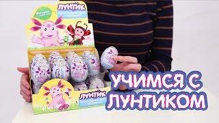 Распаковка шоколадных яиц Лунтик с сюрпризом