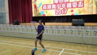 香港青少年雜耍盃2017 小學個人組 14 梁樂兒
