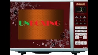 Convection Microwave Oven Unboxing Stan Nn Ct662m Panasonic