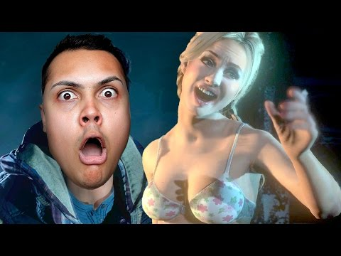 FINALLY THESE TEENS GET NAKED IN THE WOODS ( ͡° ͜ʖ ͡°) Until Dawn #2