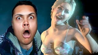 FINALLY THESE TEENS GET NAKED IN THE WOODS ( ͡° ͜ʖ ͡°) - Until Dawn #2