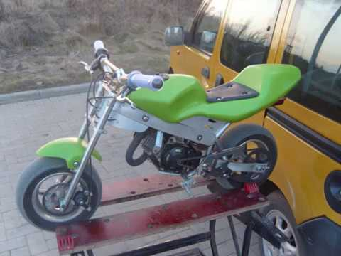 modification pocket bike tuning youtube. Black Bedroom Furniture Sets. Home Design Ideas