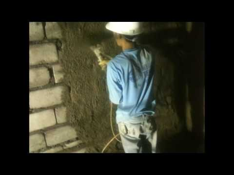 Shotcrete working at China Town in Philippines