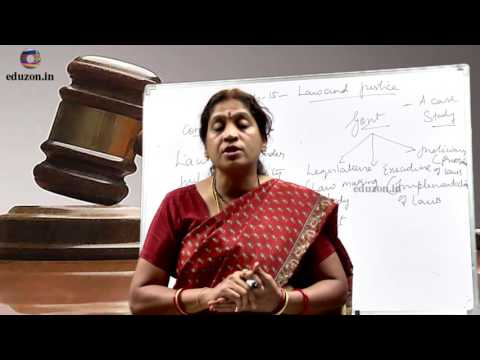 Law and Justice  - A Case Study || 8th Class Social Studies