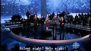 ボーカル: ジャッキー ・エヴァンコ & カナディアン・テナーズ 曲名:きよしこの夜(Silent Night)