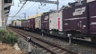 EF210-126 貨物列車 北方貨物線 三津屋中国街道踏切にて 2017/09/23