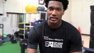 Damian Jones - Explosive Athletes Institute Testimonials