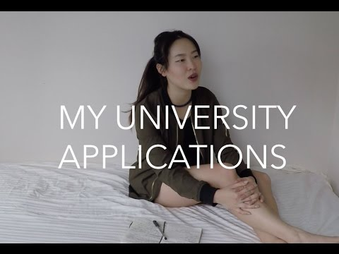 Vlog 13: My Applications to UBC and McGill