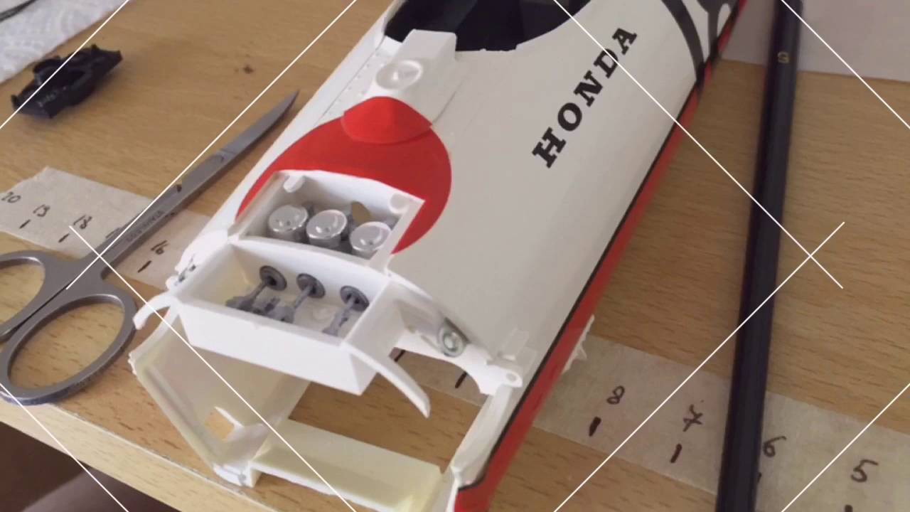 Tamiya -HONDA RA273 1/12 model kit - YouTube