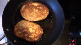 Картофельные блинчики. Видео рецепт.