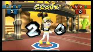 Classic Game Room - MARIO SPORTS MIX for Wii review, BASKETBALL!