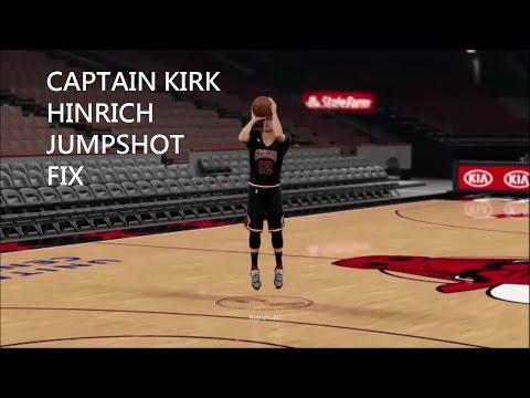 2k16 Kirk Hinrich Jumpshot Fix