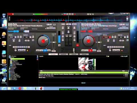 Comment mixer avec virtualdj sans platines youtube - Comment mixer sans mixeur ...