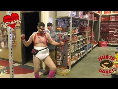 Hurts Donut in Fort Worth posts video of woman swiping their sweetsиз YouTube · Длительность: 1 мин33 с